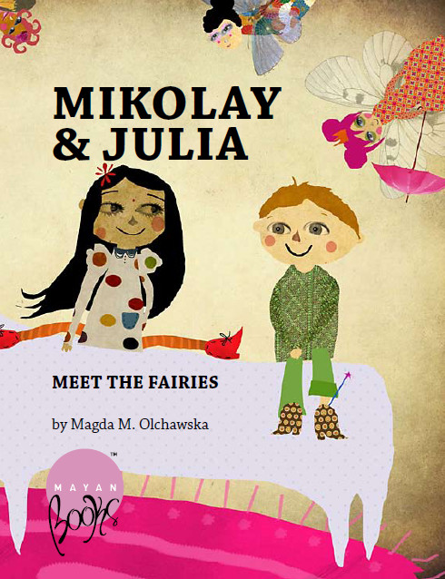 Mikolay and Julia Meet the Fairies - Front Cover