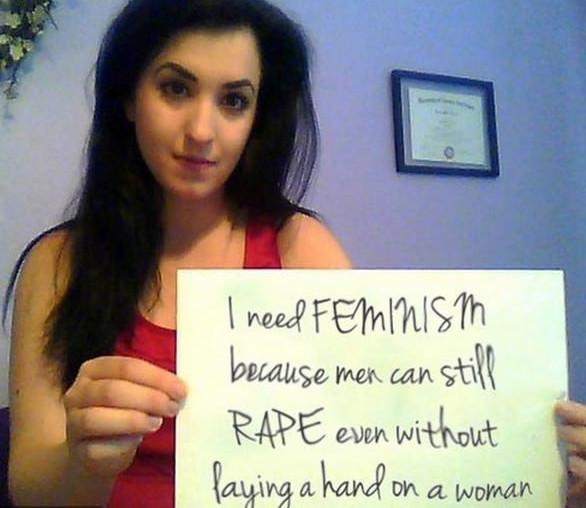 Stare rape Feminism